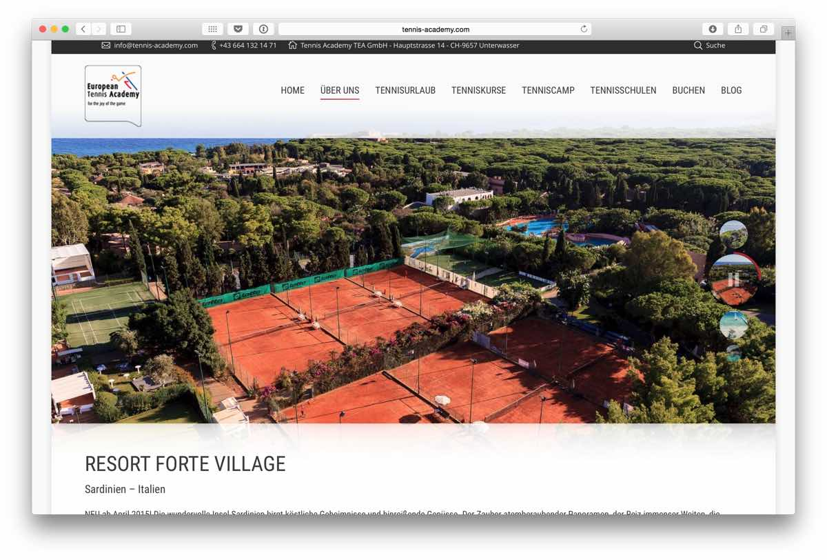 European Tennis Academy